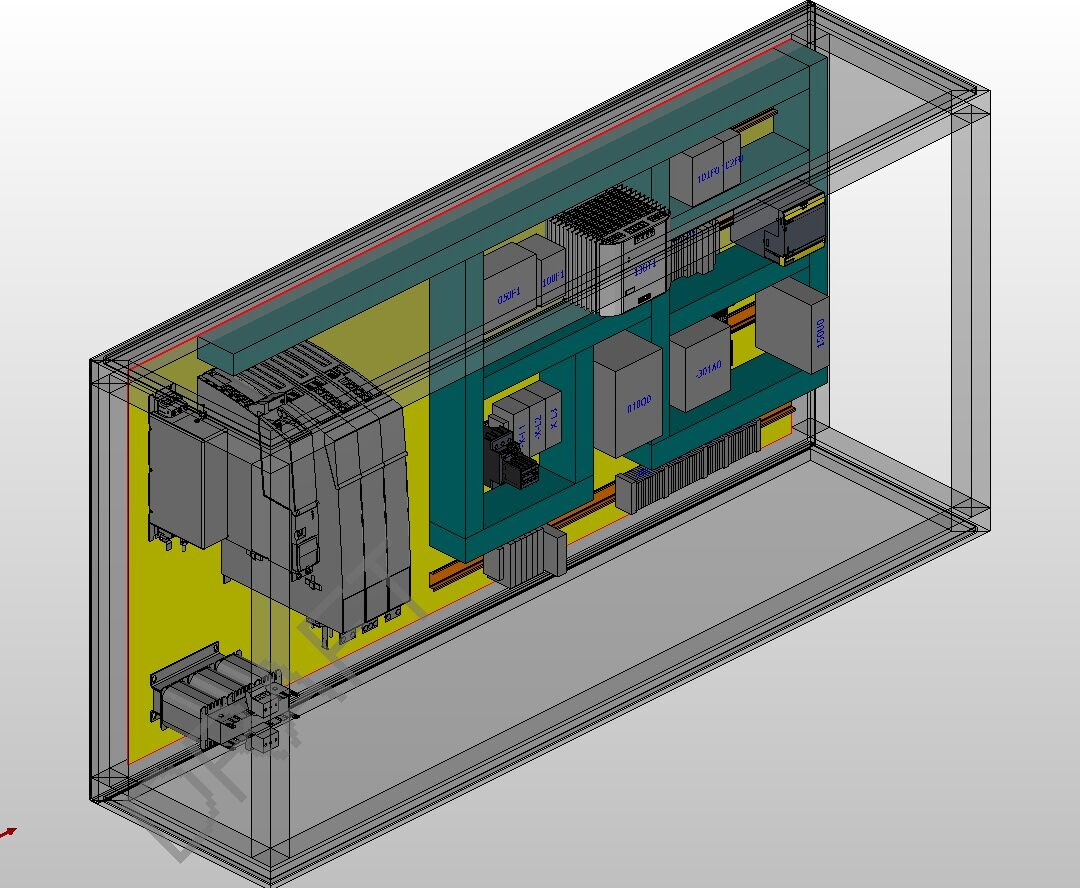 Pro Panel 3D tekening 1